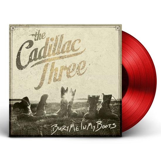 The Cadillac Three: Bury Me In My Boots Deluxe Red LP