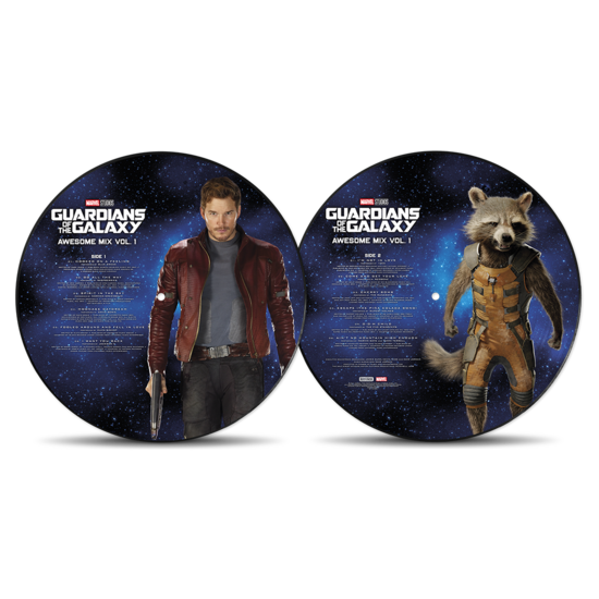 Various: Guardians of The Galaxy Vol.1: Limited Edition Picture Disc