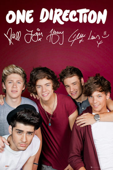 One Direction: One Direction Maroon Poster