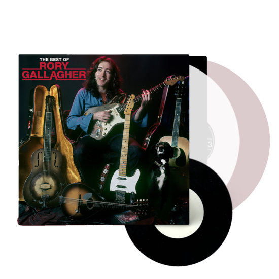 Rory Gallagher: The Best Of: Exclusive Clear Vinyl 2LP + 7