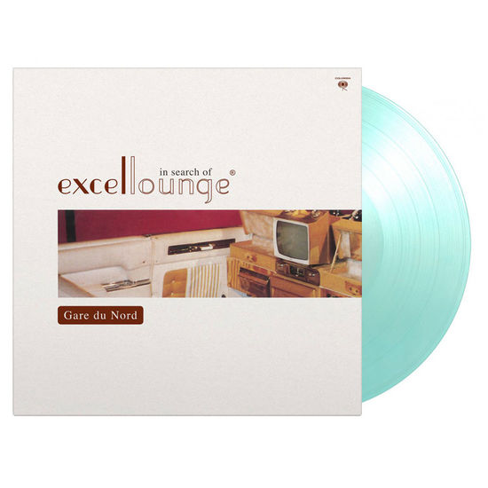 Gare Du Nord: In Search Of Excellounge: Limited Edition Crystal Clear & Turquoise Mixed Coloured Vinyl LP
