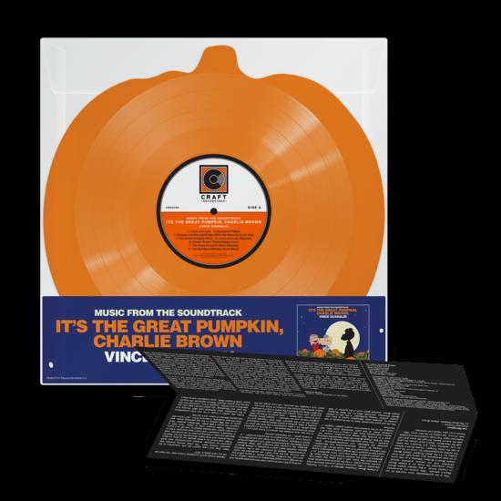 Vince Guaraldi : It's The Great Pumpkin, Charlie Brown: Pumpkin Shaped Orange Vinyl LP