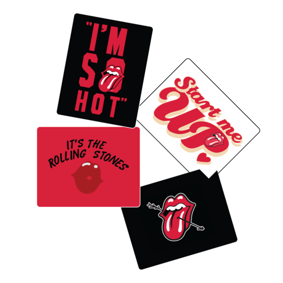 The Rolling Stones: Stones Love Card Set