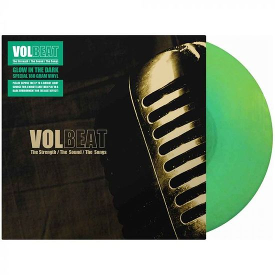 Volbeat: The Strength / The Sound / The Songs (15th Anniversary): Limited Edition Glow In The Dark Vinyl