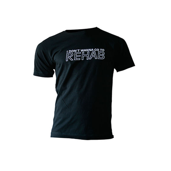 Amy Winehouse: Rehab Mens T-Shirt