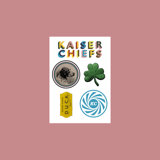 Kaiser Chiefs: Duck Sticker Set