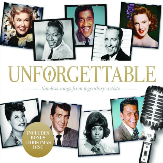 Various: Unforgetable 3 Disc CD