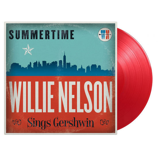 Willie Nelson: Summertime: Willie Nelson Sings Gershwin: Limited Edition Transparent Red Vinyl