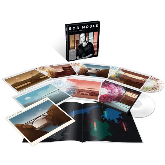 Bob Mould: Distortion - 1989-1995: Signed Splatter Vinyl 8LP Box Set