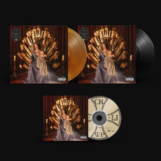 Halsey: CD, LP & LIMITED EDITION LP