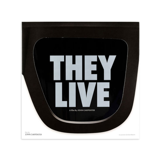 John Carpenter: They Live (Original Motion Picture Soundtrack LP Music by John Carpenter in association with Alan Howarth)