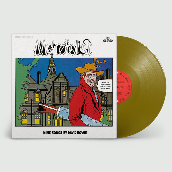 David Bowie: Metrobolist (aka The Man Who Sold The World): 50th Anniversary Random 180gm Black, White or Gold Vinyl