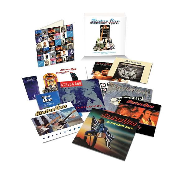 Status Quo: The Vinyl Singles Collection Vol. 3 (1984-1989)
