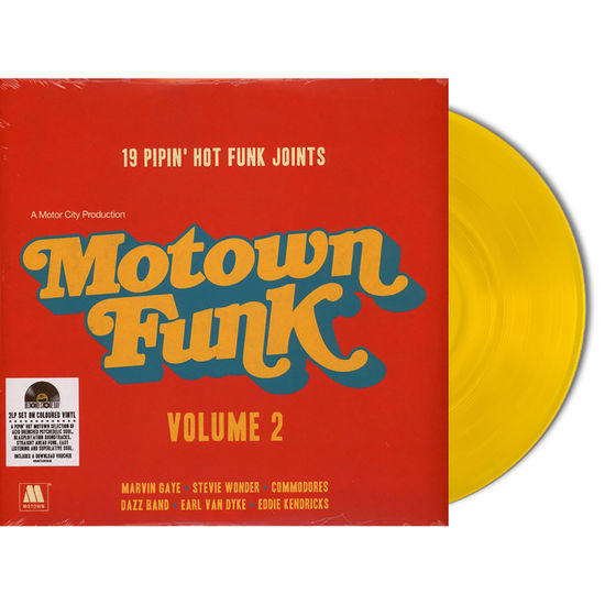 Motown: Motown Funk: Volume II - Limited Edition Colour Vinyl