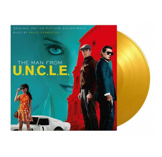 Original Soundtrack: Man From U.N.C.L.E. Limited Edition Solid Yellow Vinyl