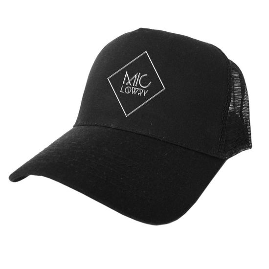 Mic Lowry: MiC LOWRY Logo Cap