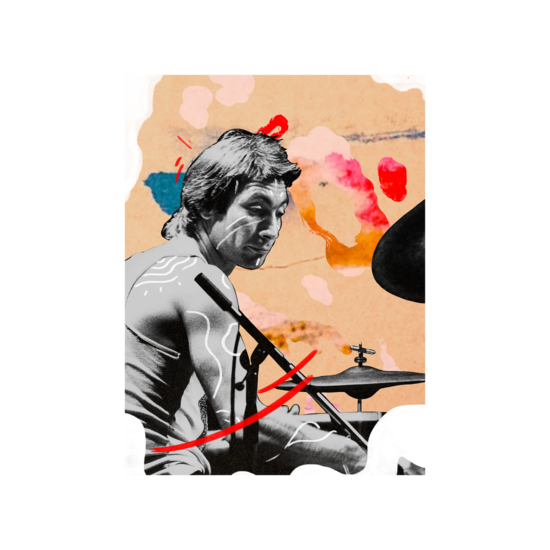The Rolling Stones: Stones x RUFFMERCY - Charlie A2 Lithograph