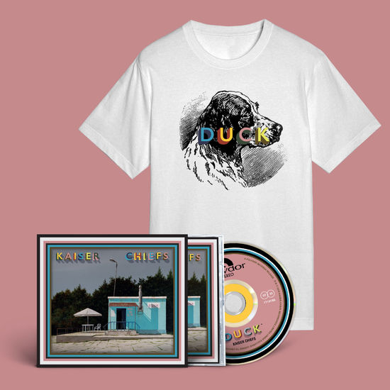 Kaiser Chiefs: Dog T-Shirt  + CD