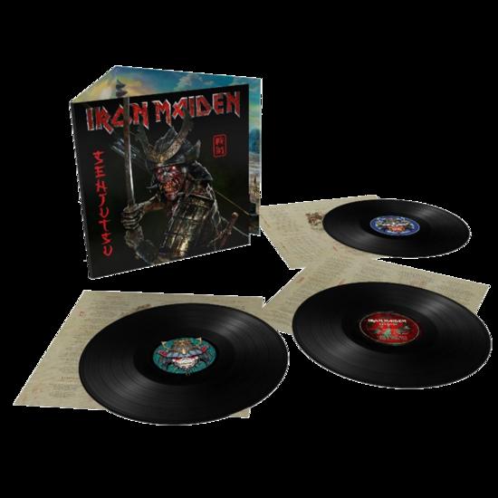 Iron Maiden: Senjutsu: Deluxe heavyweight 180G Trifold Sleeve Triple Vinyl