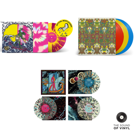 King Gizzard & The Lizard Wizard: The Sound Of King Gizzard & The Lizard Wizard Vinyl Bundle
