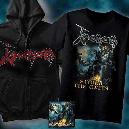Venom: CD, T-Shirt & Hoodie Bundle