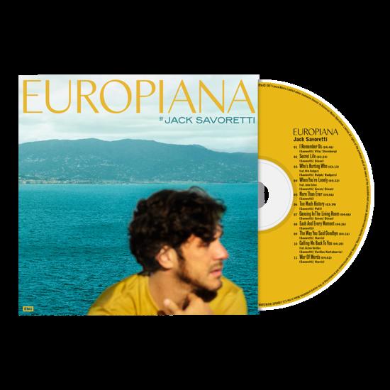 Jack Savoretti: Europiana CD