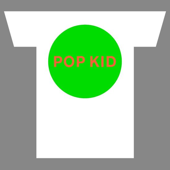 Pet Shop Boys: POP KID T-Shirt - Small