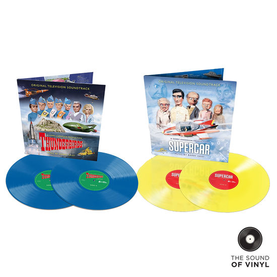 Thunderbirds: The Sound Of... Gerry Anderson: Deluxe Colour Vinyl Exclusive Bundle