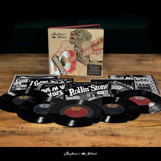 The Rolling Stones: Confessin' The Blues 10in Book Pack (Exclusive Stones Store Limited Edition)