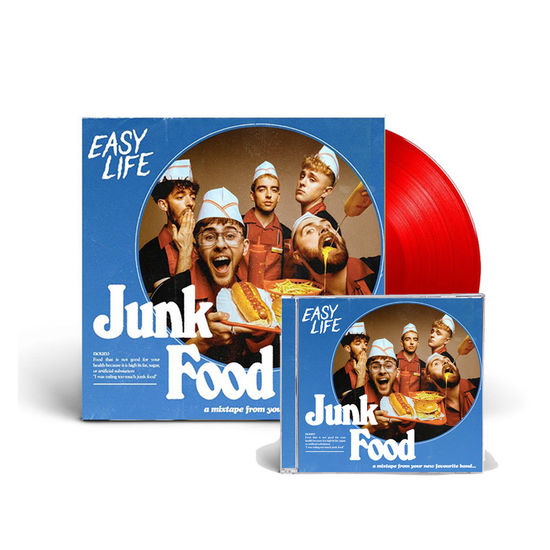 Easy Life: COMBO MEAL 3: CD + Limited Edition Ketchup Vinyl