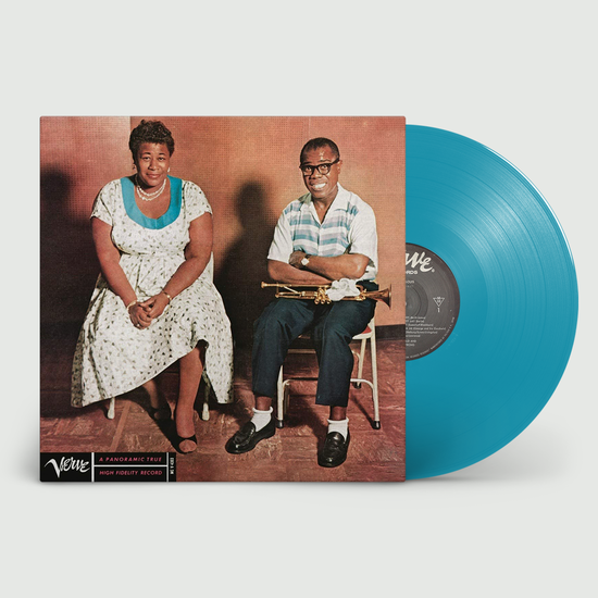 Ella Fitzgerald: Ella & Louis: Limited Edition Light Blue Vinyl