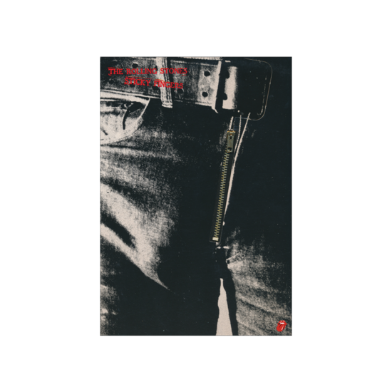 The Rolling Stones: Sticky Fingers Album Cover Lithograph