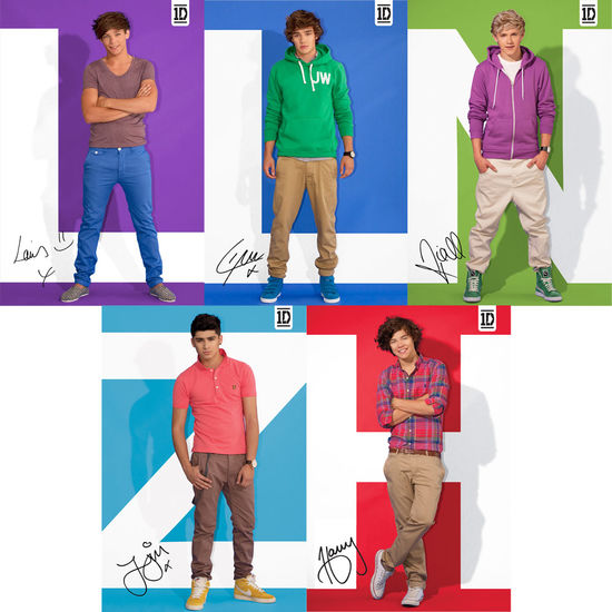 One Direction: One Direction Signed Photocard Set