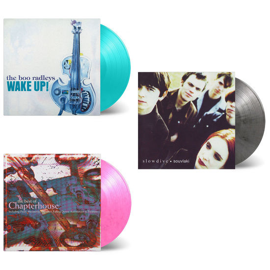 Various Artists: The Sound Of Indie Alternative: Slowdive, Chapterhouse & The Boo Radleys Limited Edition Colour Vinyl Bundle