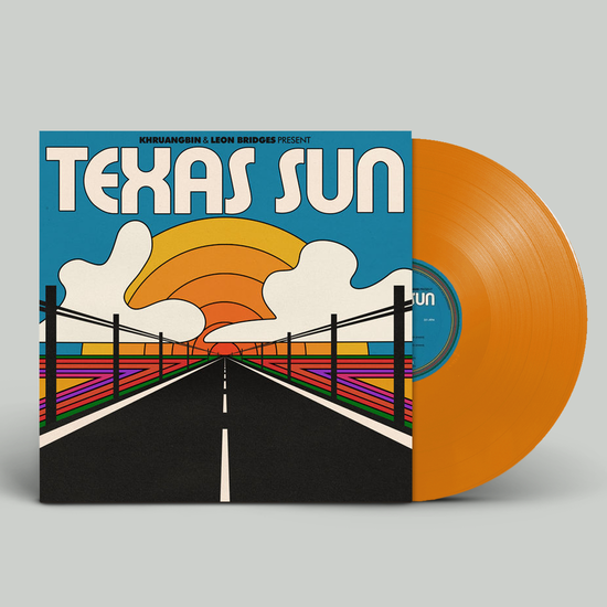 Khruangbin: Texas Sun: Limited Edition Orange Vinyl