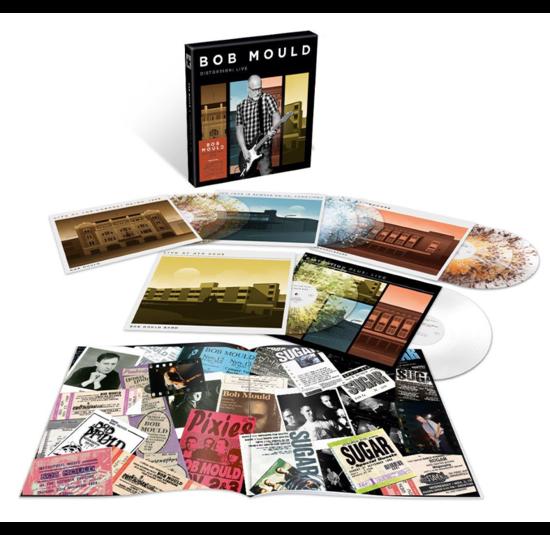 Bob Mould: Distortion: Live - Limited Edition Splatter Vinyl 8LP Boxset