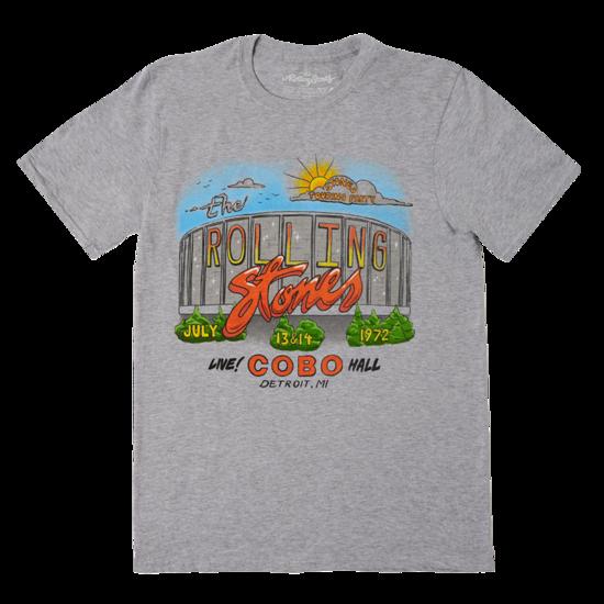 The Rolling Stones: Detroit '72 Tour T-shirt