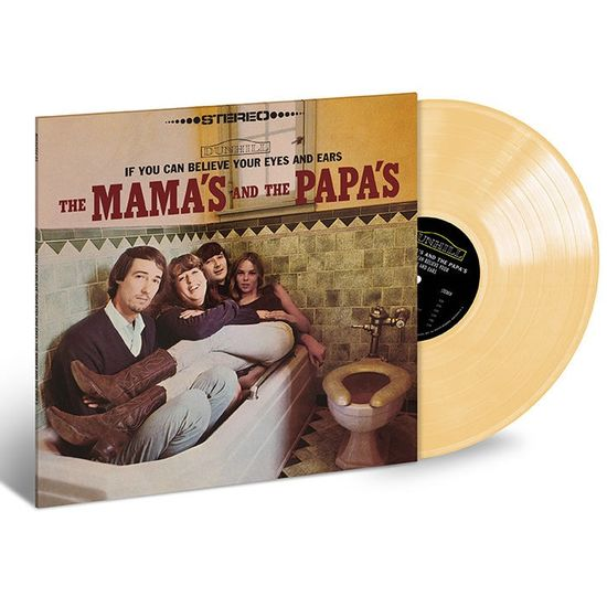The Mamas & The Papas: If You Can Believe Your Eyes and Ears: Exclusive Opaque Yellow Vinyl