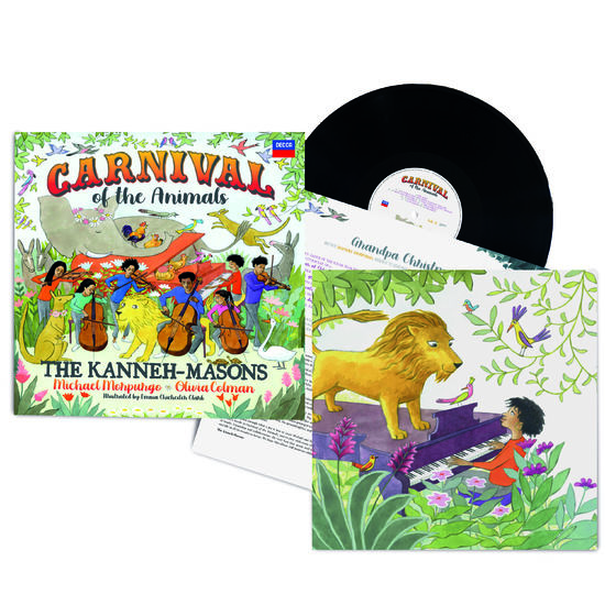 The Kanneh-Masons: Signed Carnival of the Animals 2LP
