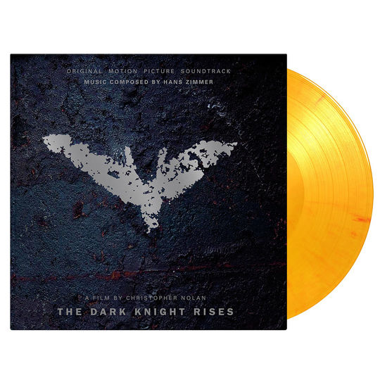 Original Soundtrack: The Dark Knight Rises: Limited Edition Flaming Orange Vinyl
