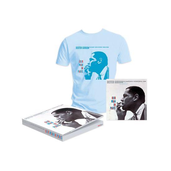 Dexter Gordon: Our Man In Paris T-Shirt And Vinyl Large