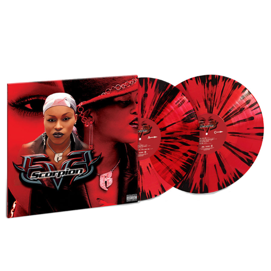 Eve: Scorpion: Exclusive Translucent Red w/ Black splatter