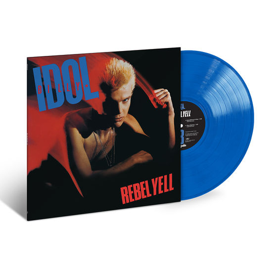 Billy Idol: Rebel Yell: Exclusive Translucent Blue Vinyl