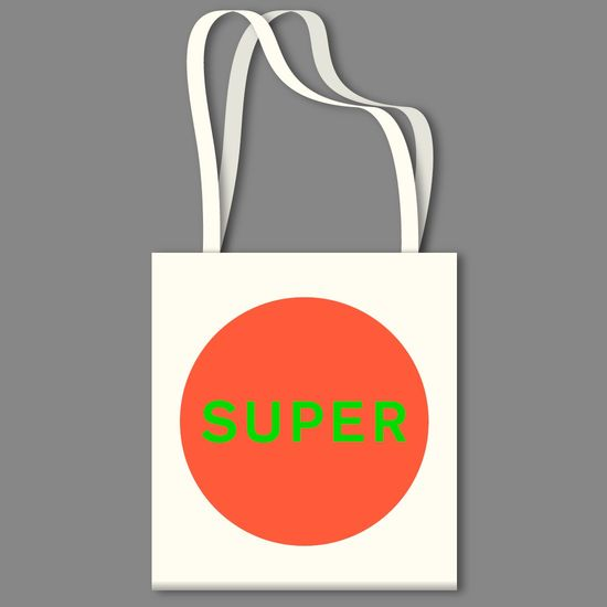 Pet Shop Boys: SUPER Tote Bag
