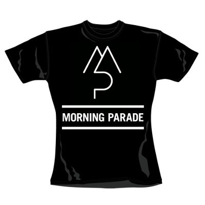 Morning Parade: Morning Parade Black Women's T-Shirt