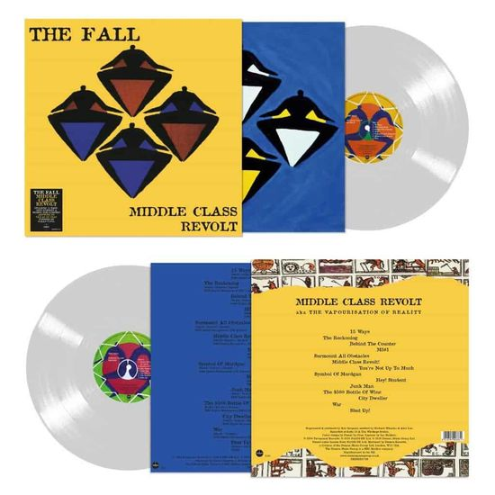 The Fall: Middle Class Revolt: Limited Edition Clear Vinyl