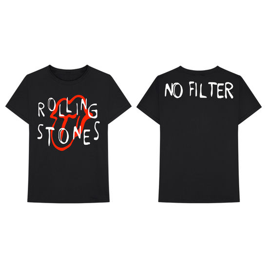 The Rolling Stones: Millinsky No Filter 2018 T-Shirt - XL