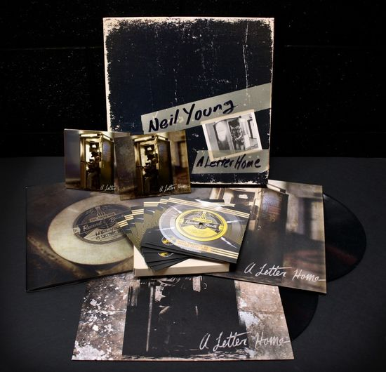 Neil Young: A Letter Home: Deluxe Box Set