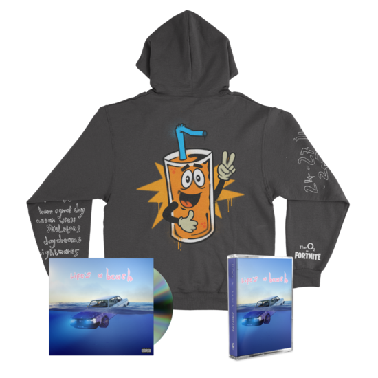 Easy Life: squeezy life hoodie + cd + cassette