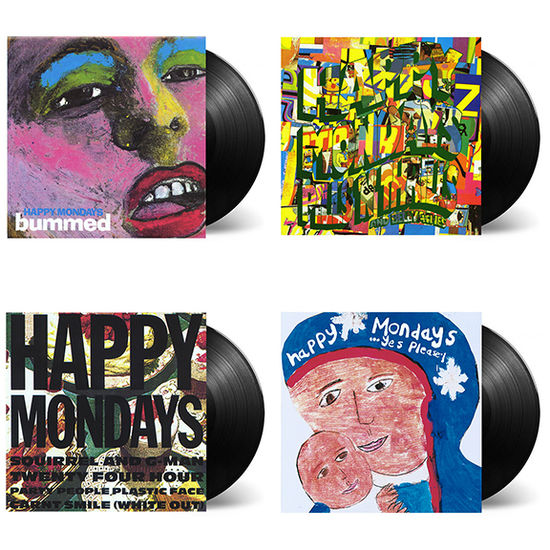 Happy Mondays: Factory Albums: Deluxe Vinyl Reissues